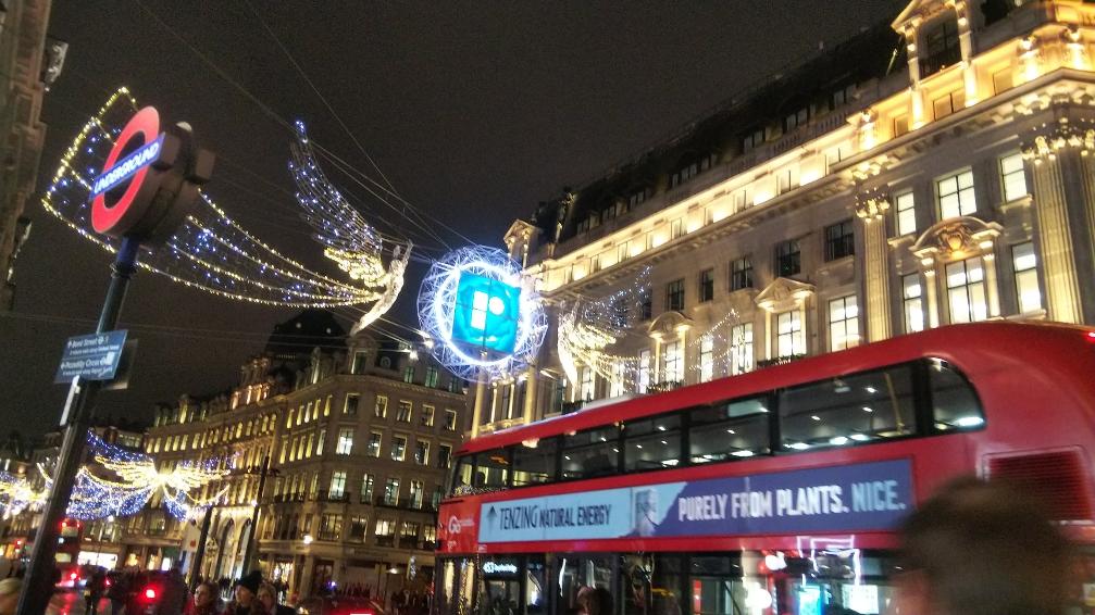 クリスマスシーズンが素敵☆ロンドン一人旅 イルミネーション巡り