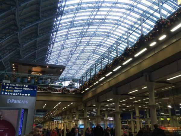 ロンドンの駅でユーロレイルを乗る前にできるプチ観光♪