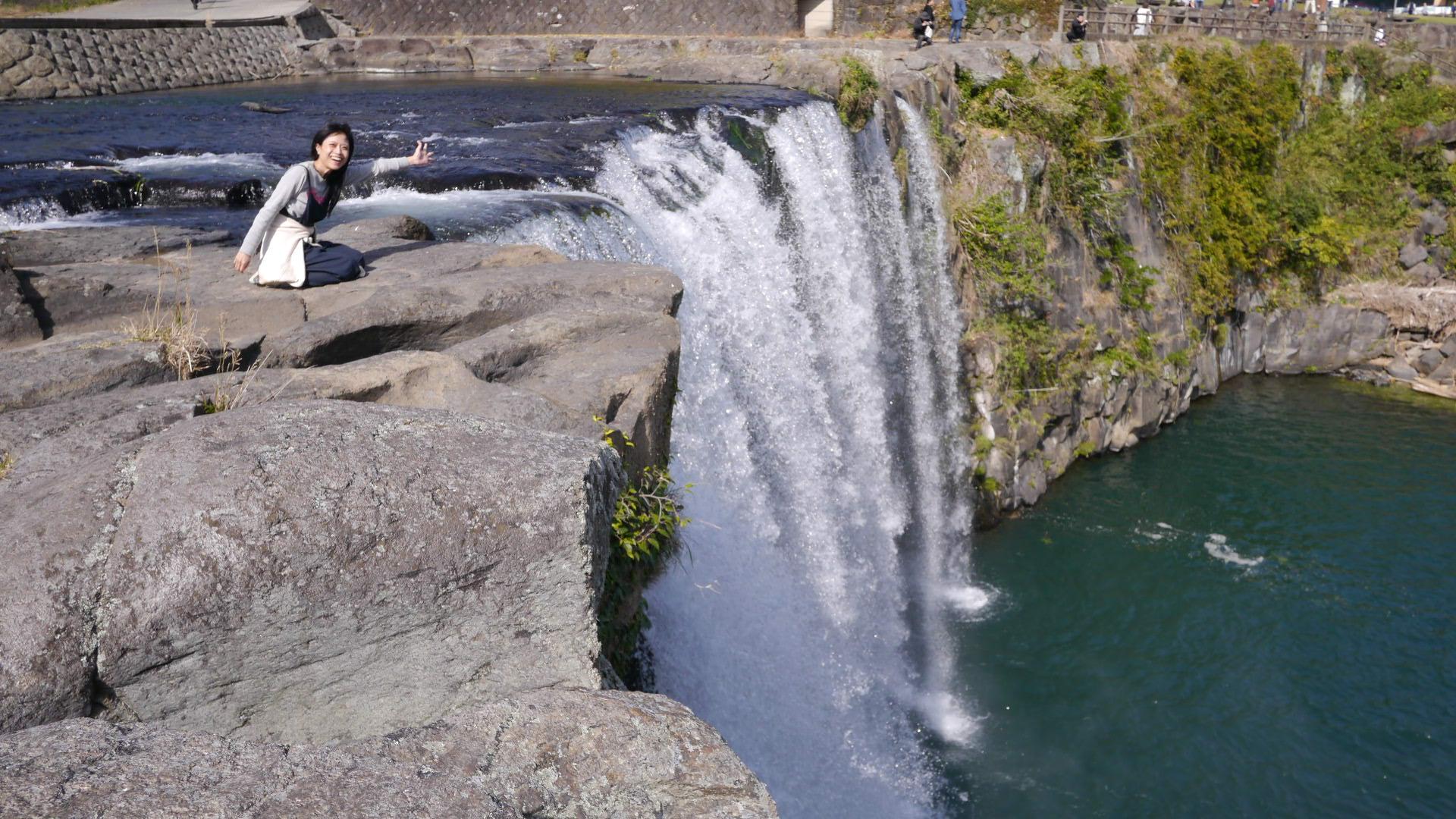 【九州旅行②】圧巻!360度から見られる原尻の滝