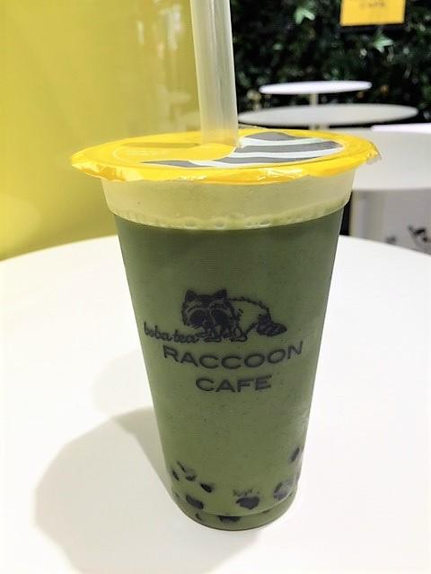 【タピ活】横浜そごう 可愛い「Raccoon Cafe」でタピTime