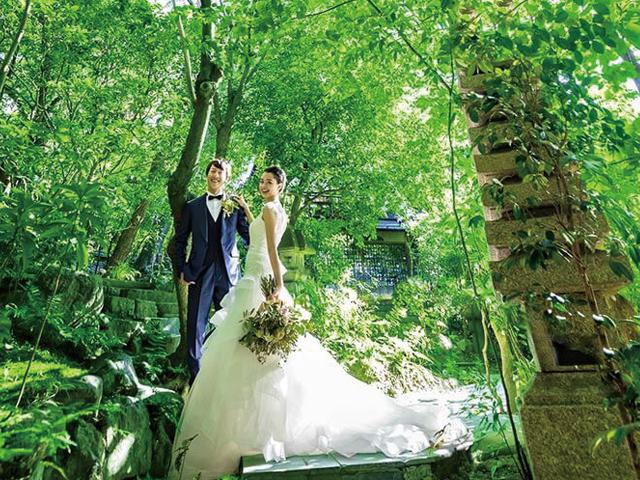 素敵な思い出をしっかり残せる! 人気のフォトスポットがある結婚式場とは?