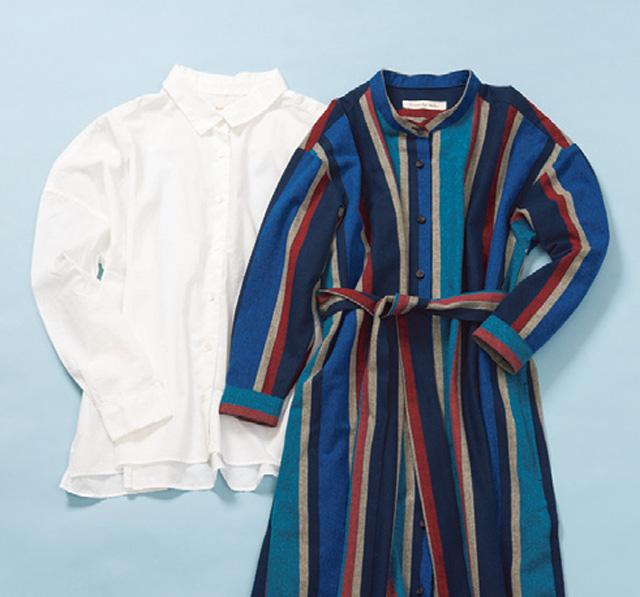 生地に向き合って発想されるカジュアルなシャツ「Sunny day Tailor」