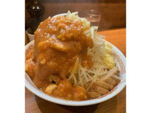 2年越しで食べれた!人形町「火の豚」は中本と二郎の融合!ラーメン好き必見♪こってり辛味で激ウマ!