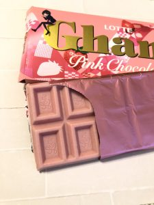 【バレンタイン】ガーナ「ピンクチョコレート」がかわいすぎ!