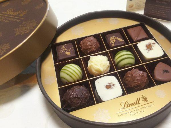 【リンツ】お酒がほのかに香る、風味豊かな大人リッチなショコラアソート!