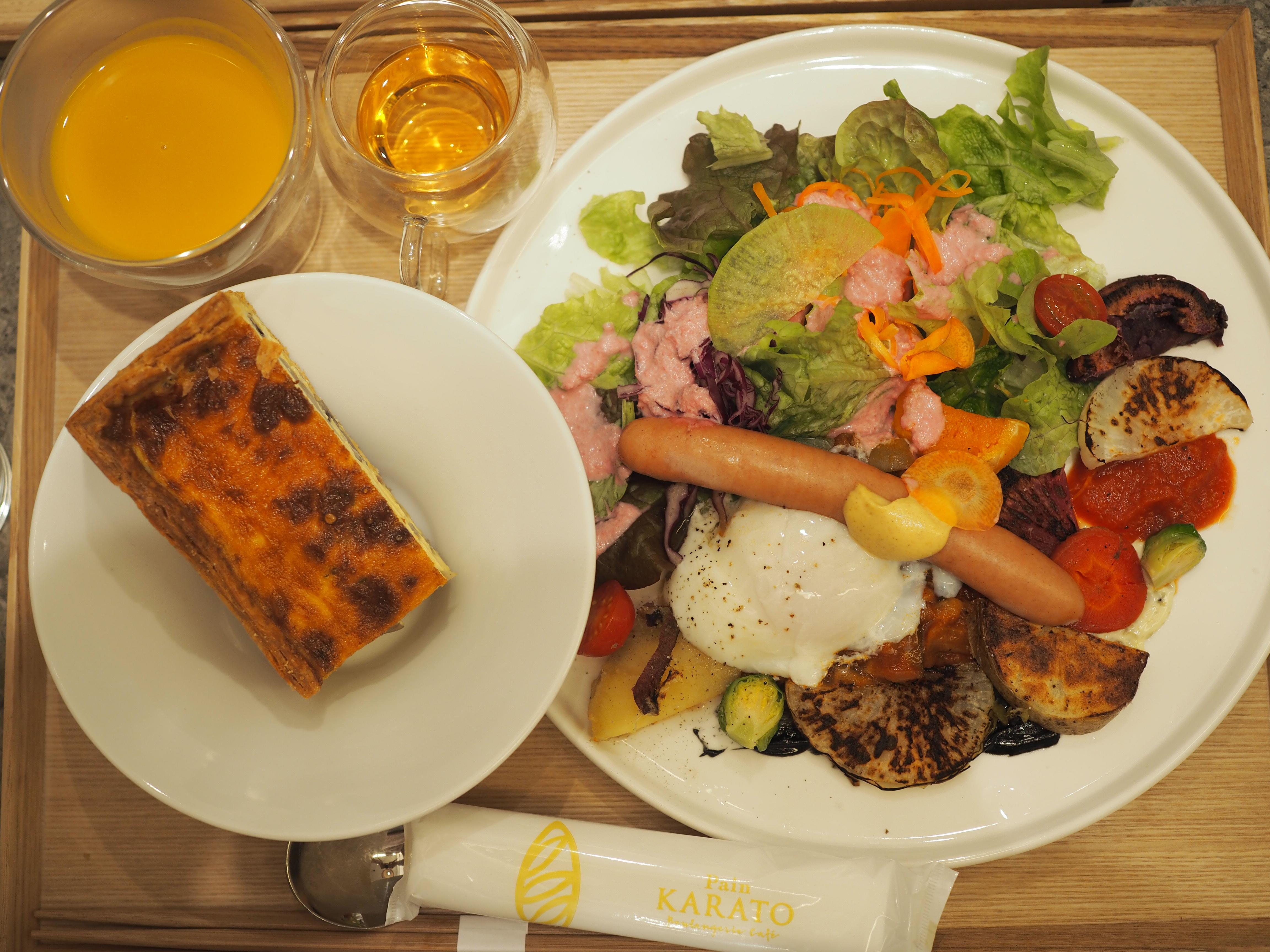 【大阪・北浜】お得♡人気パン屋さんの農園直送野菜たっぷりモーニング