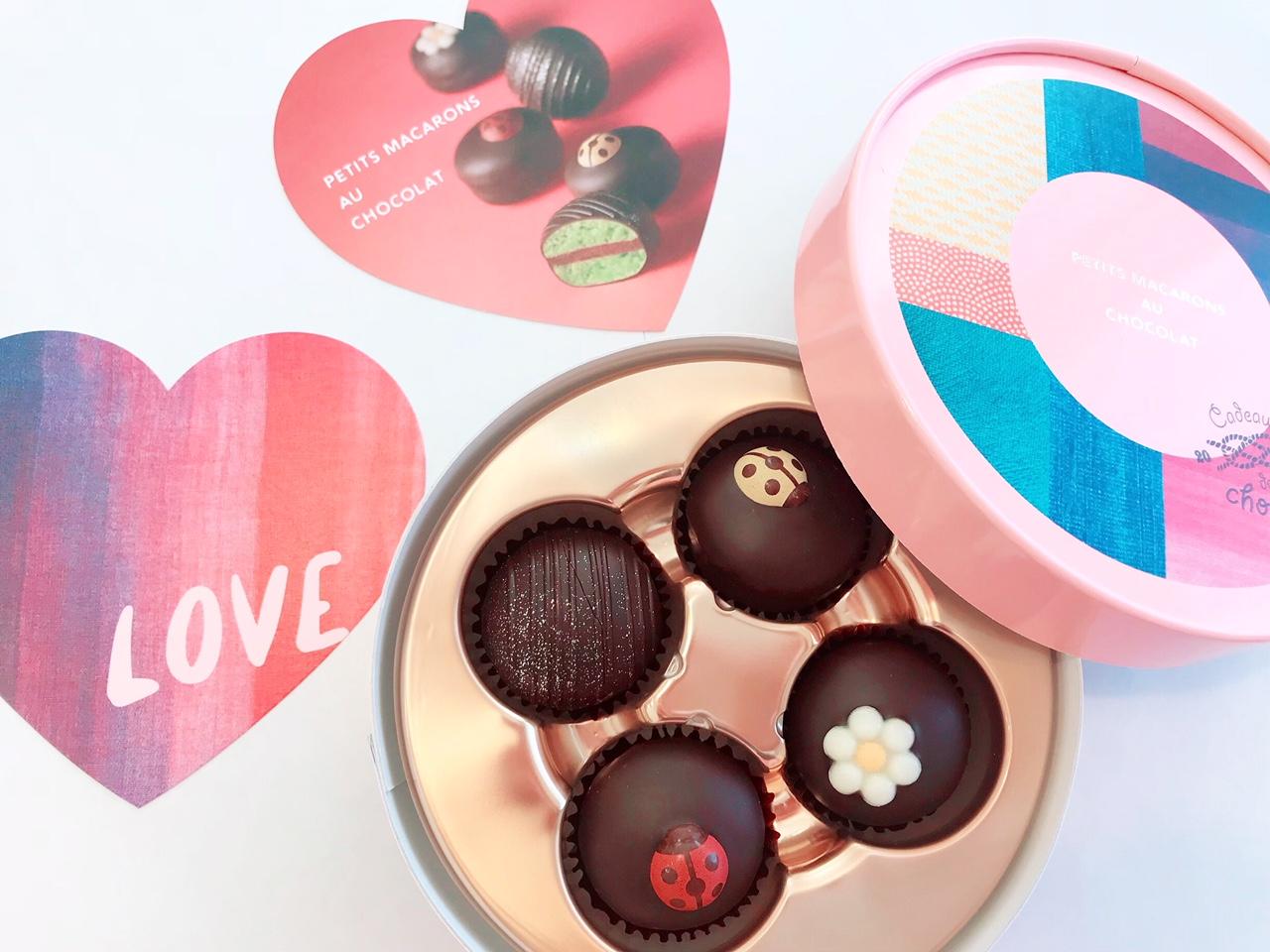 話題のチョコレート♡ブールミッシュのプティマカロン・ショコラ