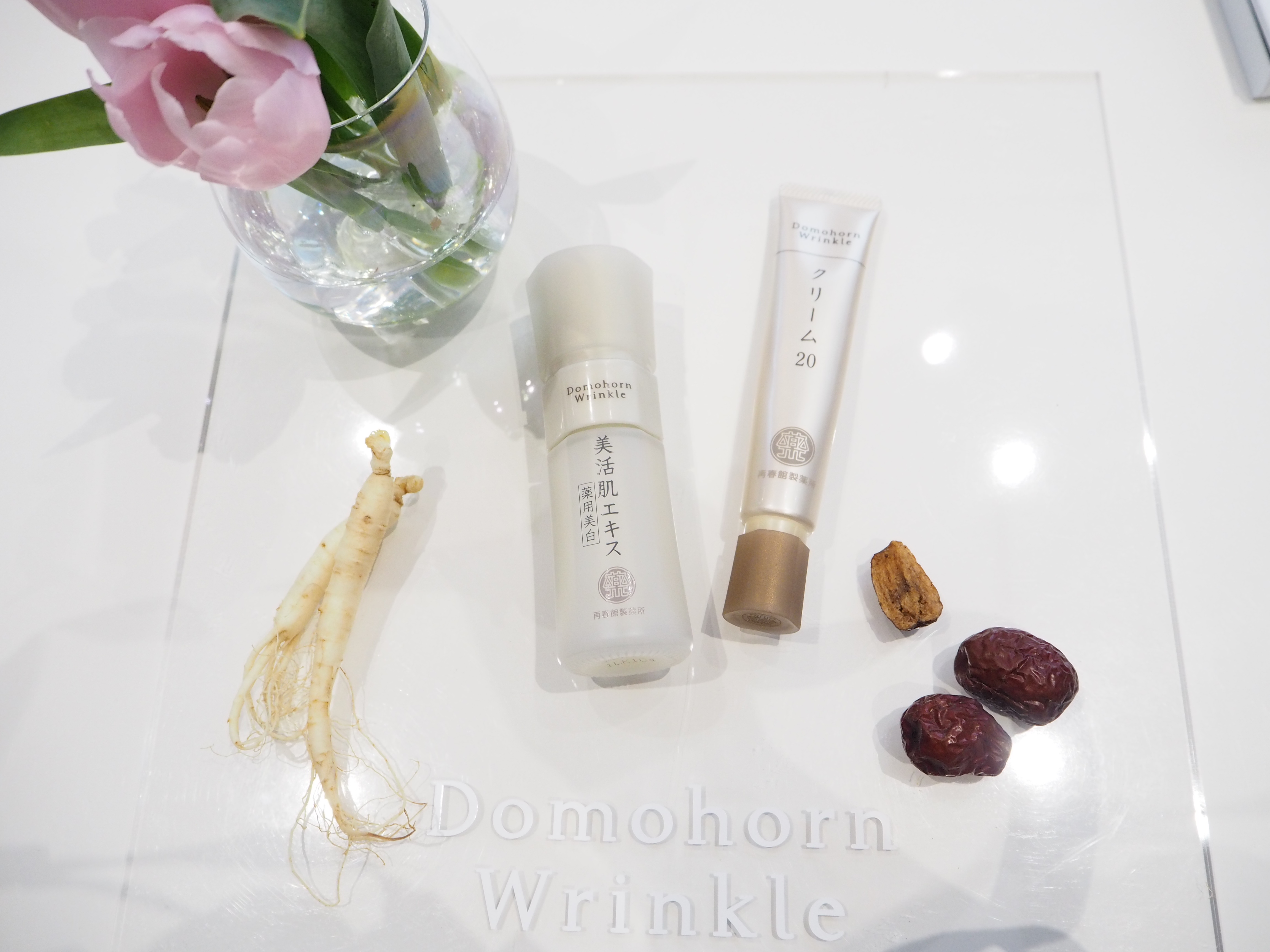 コラーゲン研究の第一人者・ドモホルンリンクルの自信作! 美白美容液&保湿クリームが早くも名品の予感